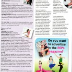 REPS magazine featured trainer