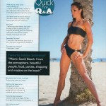 Fighters Only Magazine: Babe feature, Q&A