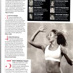 Marie Claire: Secrets of the super fit
