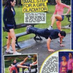 Sun Newspaper training Lee Latchford Evans