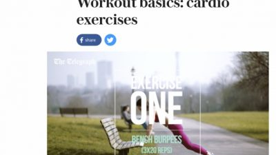 Check out Jenny's Workout Basics videos for the Telegraph