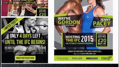 Jenny & Wayne host the International Fitness Championships 2015!