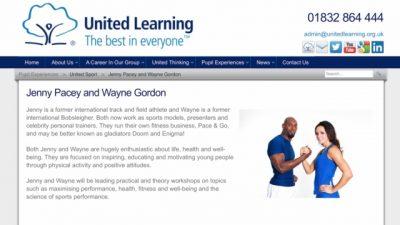 United Learning Ambassadors Motivate- Inspire-educate pupils at Carter Poole Community school